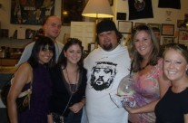 Guess where we are? That's right VEGAS BABY! Posing for photos with Chumlee from Pawn Stars.