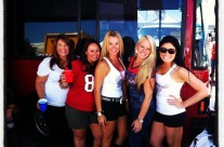ROI team members tailgating at the Texans!!